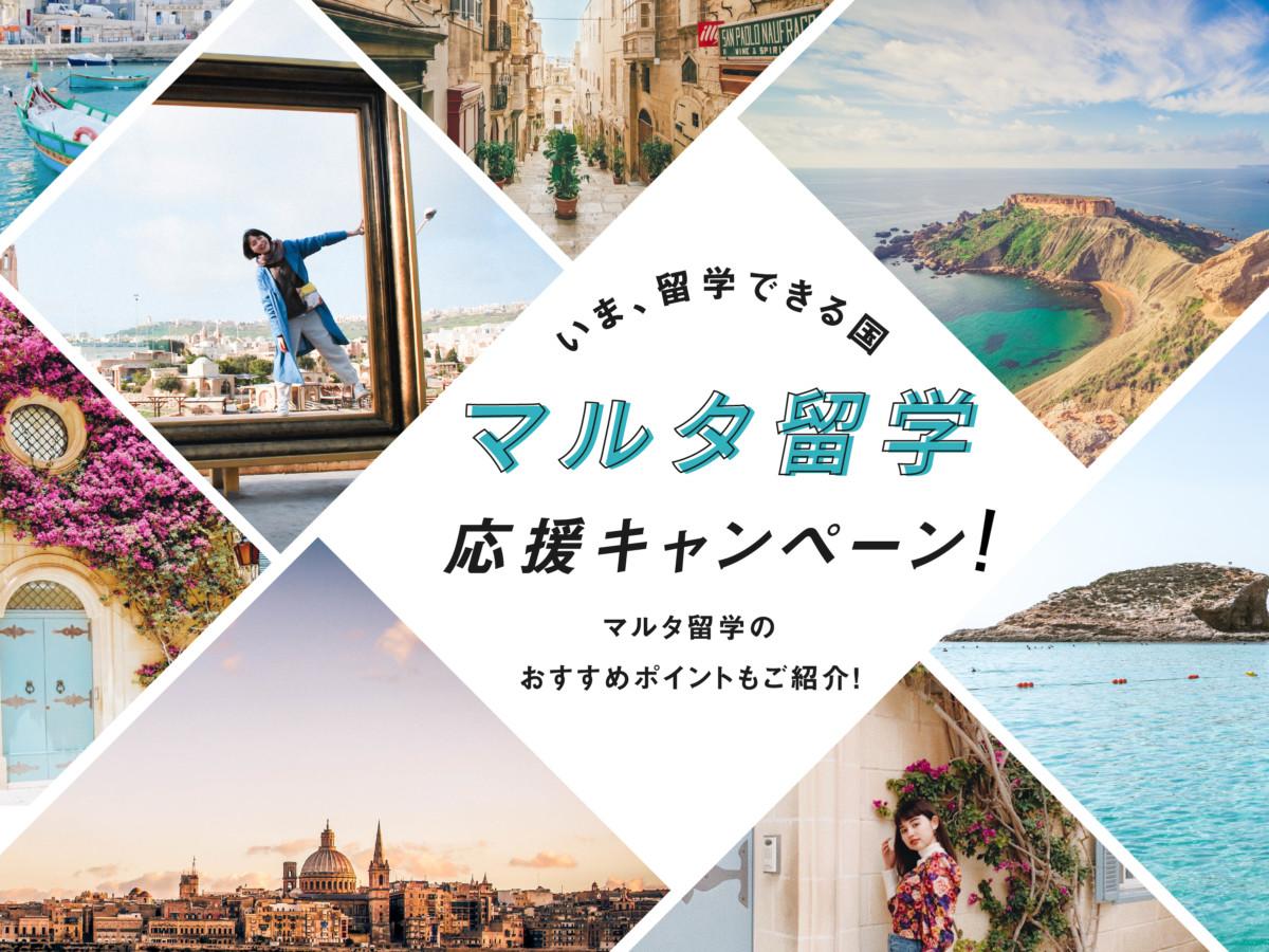 【最大342,000円割引】今留学できる国!マルタ留学応援キャンペーン