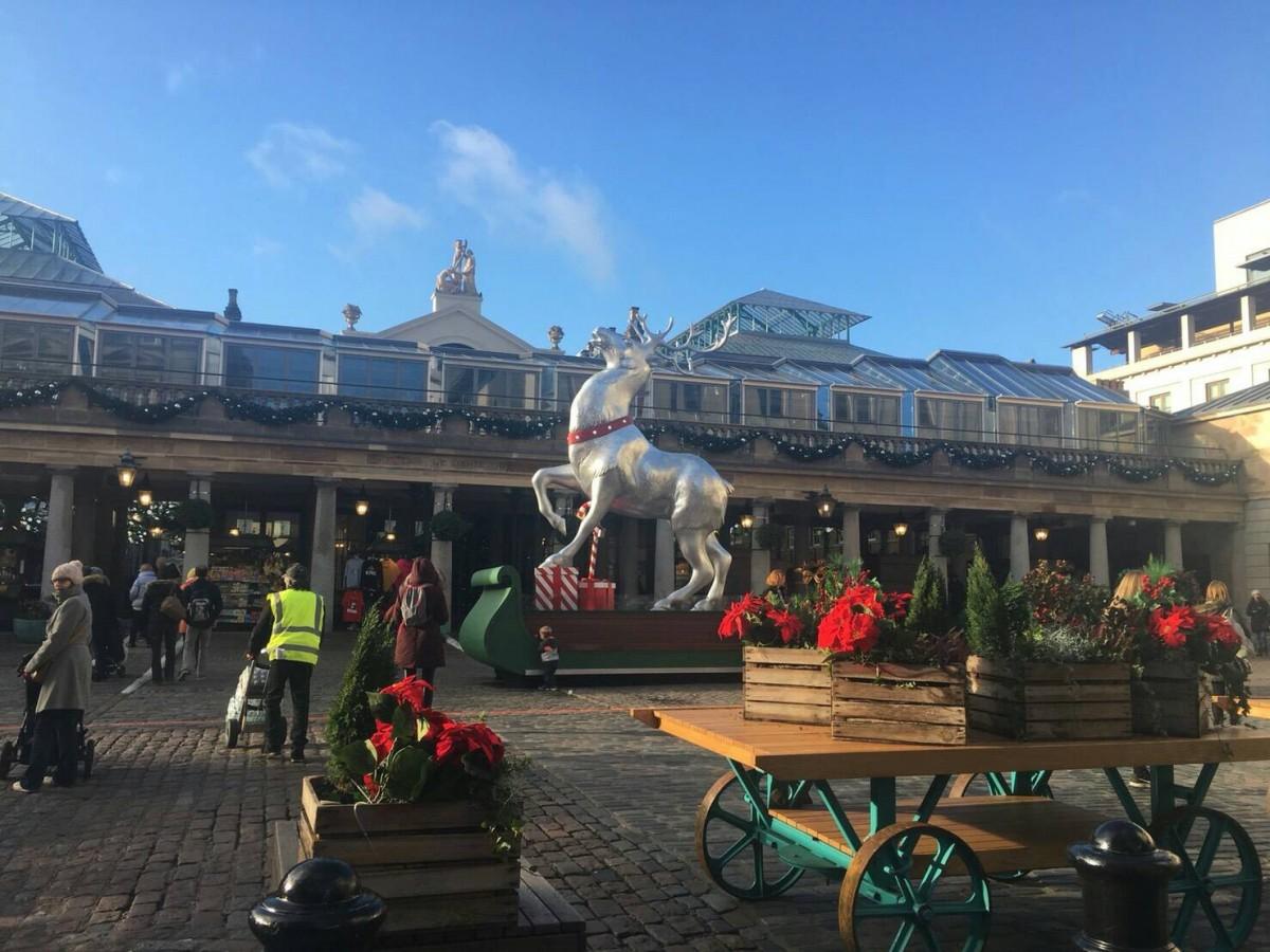 ロンドンのクリスマスマーケットへ行ってきました♪【あーやのイギリスワーホリブログ】