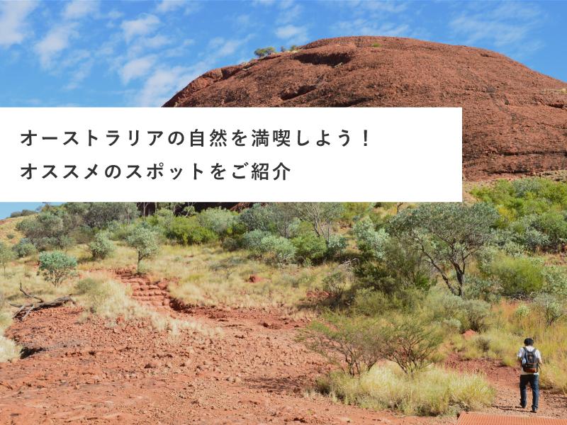 オーストラリアの自然を満喫しよう!オススメのスポットをご紹介
