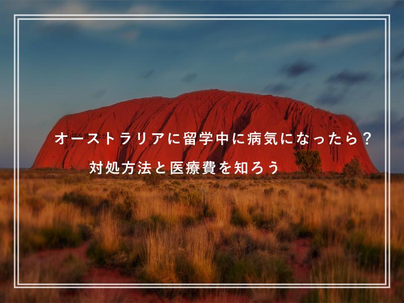 オーストラリアに留学中に病気になったら?対処方法と医療費を知ろう