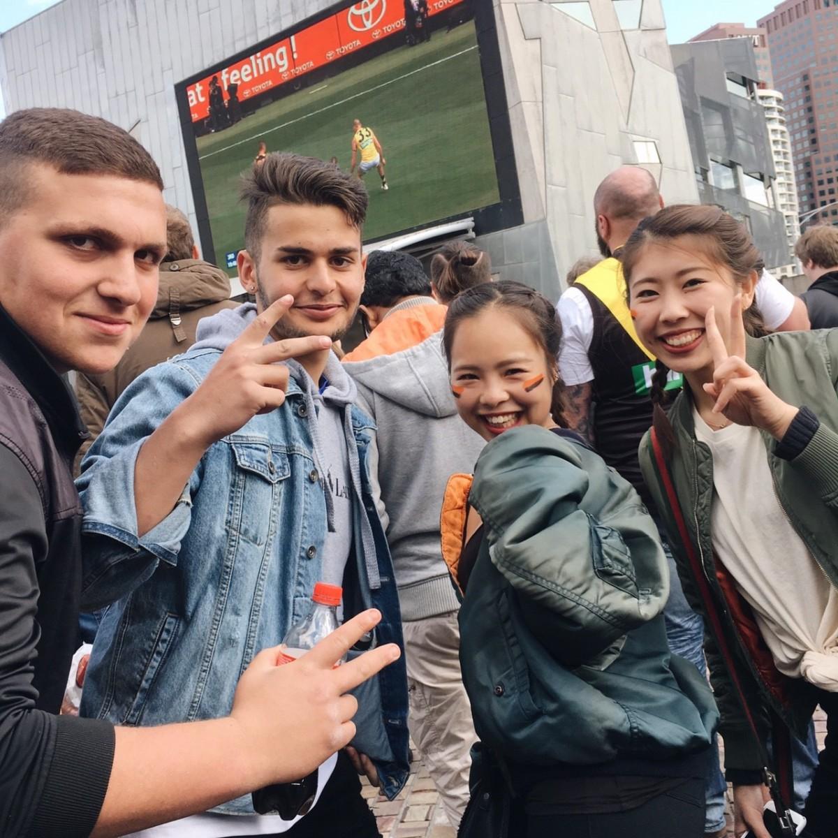 オーストラリアフットボールのAFLグランドファイナルを観戦!【karenのオーストラリア留学ブログ】