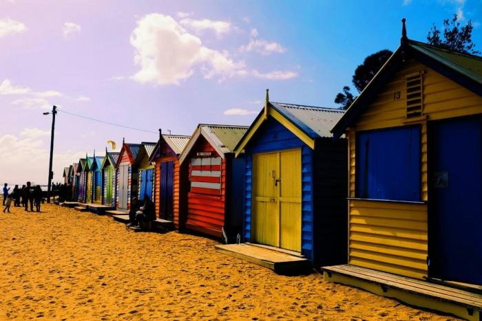 明治大学 Yukaが行くオーストラリア留学INメルボルン!映画館&ブライトンビーチ