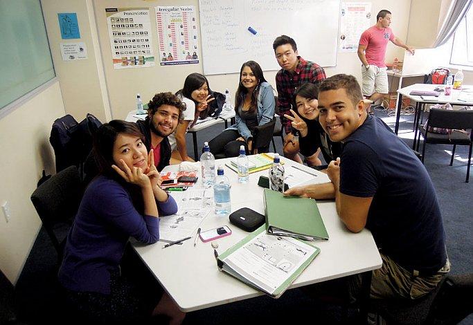 国際色豊かな生徒が集まる!