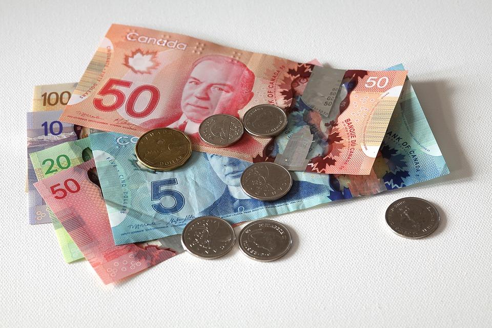 カナダのお金は紙幣と硬貨!お金の種類や見分け方について