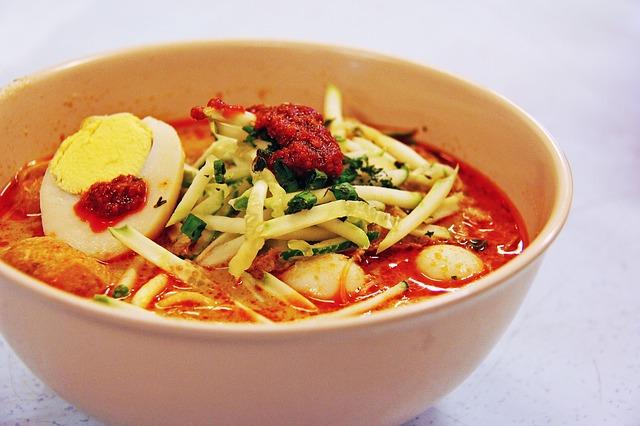 代表的なマレーシアの食べ物その①:米・麺の料理