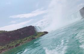 高校生留学 ナイアガラの滝に行ってきました! カナダのトロント留学 byゆめの part2