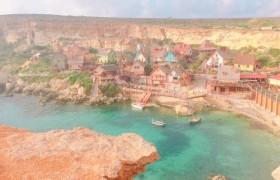 平石貴子のマルタ島留学 2days  「ポパイ村」 女性 一人旅