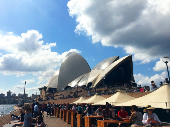 28歳ギリホリスタート Mikuオーストラリア日記 オペラハウス シドニーpart5