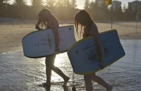 【ゴールドコースト1週間留学】放課後にサーフィン&ディナー
