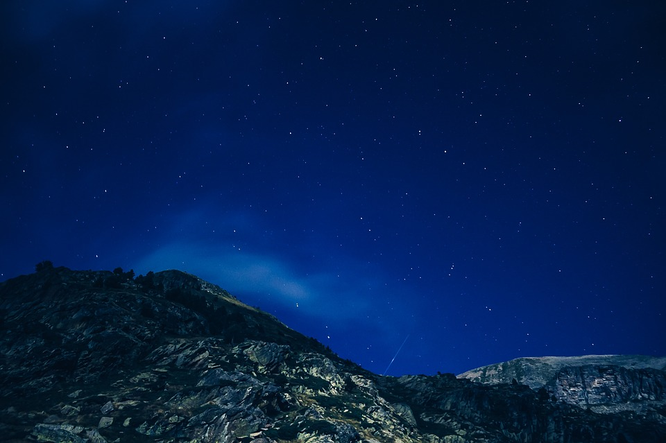 バンフみどころ:④星空
