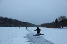 カナダトロント 天然スケートリンク  エミリーのEnglish留学日記