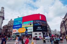 ロンドン観光!ロンドンの中心街、ピカデリー・サーカスの活気がすごい!