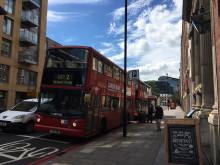 ロンドン観光!2階建てバスに初めて乗りました!