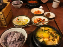 カナダ留学はこんなに楽しい!韓国料理にハマって週一ペースで通ってます。