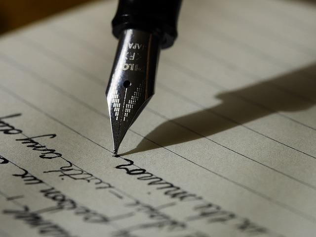 英文の手紙の書き方についてその②:書き始めの部分の書き方